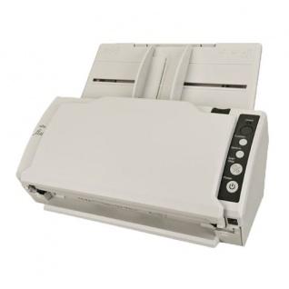 Fujitsu fi-6110 gebrauchter Dokumentenscanner 138 Seiten gescannt Obere Ablage NEU