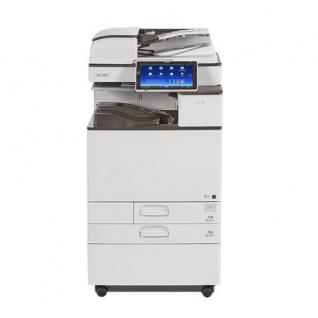 Nashuatec Aficio MP C3503 gebrauchter Kopierer mit 2.PF und Unterschrank - Vorschau