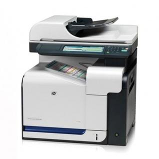 HP Color LaserJet CM3530fs MFP, generalüberholtes Multifunktionsgerät Fax Duplex LAN CC520A