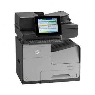 HP Officejet Enterprise Color Flow X585z, 50.023 Seiten gedruckt, gebrauchtes Multifunktionsgerät