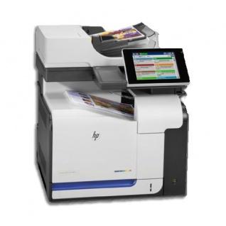 HP Laserjet 500 color MFP M575f, nur 78.970 Blatt gedruckt, gebrauchtes Multifunktionsgerät Toner C NEU