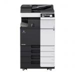Konica Minolta bizhub C284e gebrauchter Kopierer 198.276 Blatt gedruckt mit PC-210, DF-624, FS-533, Faxkarte
