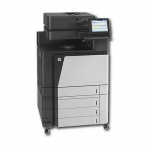 HP Color LaserJet Enterprise Flow M880z mfp 323.407 Blatt gedruckt generalüberholter Kopierer