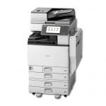 Ricoh Aficio MP C5502 mit 4 PF gebrauchter Kopierer
