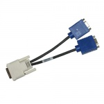 HP Y Splitter Kabel 338285-008 DMS-59 Dual VGA