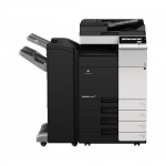 Konica Minolta bizhub C308 gebrauchter Kopierer 70.543 Blatt gedruckt mit PC-210, DF-629, FS-534 + SD-511, PK-520, Toner C, M NEU