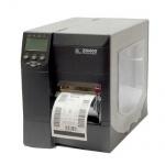 Zebra ZM400, gebrauchter Etikettendrucker 18, 69 km gedruckt 203 dpi Seriell, Parallel, USB Druckkopf NEU