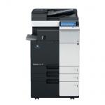 Konica Minolta bizhub C224e gebrauchter Kopierer 40.294 Blatt gedruckt mit 2.PF, PC-410, DF-624, FS-533, PK-519, inkl. Faxkarte