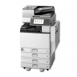 Nashuatec Aficio MP C4502 mit 4 PF gebrauchter Kopierer