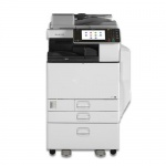 Nashuatec Aficio MP C5502 mit 2 PF und Unterschrank gebrauchter Kopierer