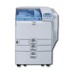 Ricoh SP C820DN mit 2.PF u. Unterschrank, generalüberholter Farblaserdrucker