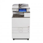 Nashuatec Aficio MP C3503 gebrauchter Kopierer mit 2.PF und Unterschrank