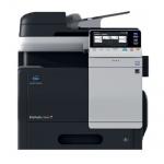 Konica Minolta bizhub C3350, gebrauchtes Multifunktionsgerät 12.252 Blatt gedruckt inkl. Faxkarte