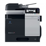 Konica Minolta bizhub C3350, gebrauchtes Multifunktionsgerät 5.248 Blatt gedruckt