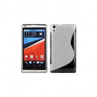 Cadorabo Hülle für HTC Desire 816 in HALB TRANSPARENT ? Handyhülle aus flexiblem TPU Silikon ? Silikonhülle Schutzhülle Ultra Slim Soft Back Cover Case Bumper