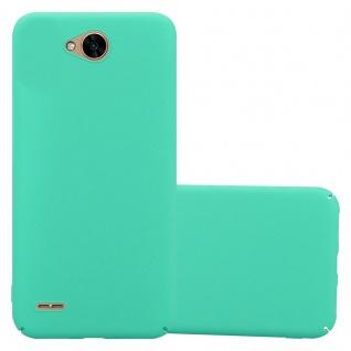 Cadorabo Hülle für LG X Power 2 in FROSTY GRÜN - Hardcase Handyhülle aus Plastik gegen Kratzer und Stöße - Schutzhülle Bumper Ultra Slim Back Case Hard Cover