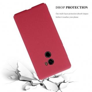 Cadorabo Hülle für Xiaomi Mi Mix 2 in FROSTY ROT - Hardcase Handyhülle aus Plastik gegen Kratzer und Stöße - Schutzhülle Bumper Ultra Slim Back Case Hard Cover - Vorschau 5