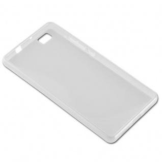 Cadorabo Hülle für Huawei P8 LITE 2015 in HALB TRANSPARENT ? Handyhülle aus flexiblem TPU Silikon ? Silikonhülle Schutzhülle Ultra Slim Soft Back Cover Case Bumper - Vorschau 3