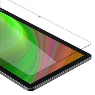 """"""" Cadorabo Panzer Folie für Huawei MediaPad M5 Lite 10 (10.1"""" Zoll) - Schutzfolie in KRISTALL KLAR - Gehärtetes (Tempered) Display-Schutzglas in 9H Härte mit 3D Touch Kompatibilität"""""""