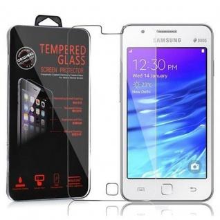 Cadorabo Panzer Folie für Samsung Galaxy Z1 - Schutzfolie in KRISTALL KLAR - Gehärtetes (Tempered) Display-Schutzglas in 9H Härte mit 3D Touch Kompatibilität