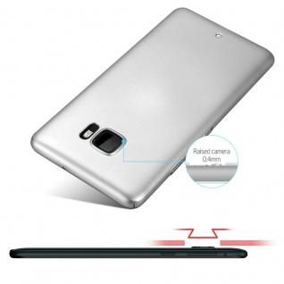 Cadorabo Hülle für HTC U ULTRA in METALL SILBER - Hardcase Handyhülle aus Plastik gegen Kratzer und Stöße - Schutzhülle Bumper Ultra Slim Back Case Hard Cover - Vorschau 4