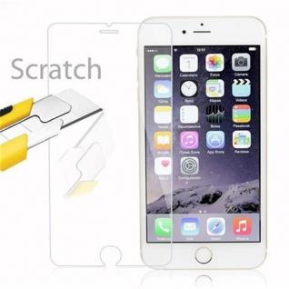 Cadorabo Panzer Folie für Apple iPhone 6 PLUS / 6S PLUS - Schutzfolie in KRISTALL KLAR - Gehärtetes (Tempered) Display-Schutzglas in 9H Härte mit 3D Touch Kompatibilität - Vorschau 2