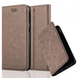Cadorabo Hülle für HTC DESIRE 530 / 630 in KAFFEE BRAUN - Handyhülle mit Magnetverschluss, Standfunktion und Kartenfach - Case Cover Schutzhülle Etui Tasche Book Klapp Style - Vorschau 1