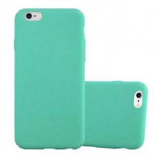 Cadorabo Hülle für Apple iPhone 6 / iPhone 6S in FROSTY GRÜN - Hardcase Handyhülle aus Plastik gegen Kratzer und Stöße - Schutzhülle Bumper Ultra Slim Back Case Hard Cover