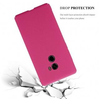 Cadorabo Hülle für Xiaomi Mi Mix 2 in FROSTY PINK - Hardcase Handyhülle aus Plastik gegen Kratzer und Stöße - Schutzhülle Bumper Ultra Slim Back Case Hard Cover - Vorschau 5