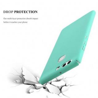 Cadorabo Hülle für Huawei P9 in FROSTY GRÜN - Hardcase Handyhülle aus Plastik gegen Kratzer und Stöße - Schutzhülle Bumper Ultra Slim Back Case Hard Cover - Vorschau 4