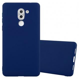 Cadorabo Hülle für Honor 6X in CANDY DUNKEL BLAU - Handyhülle aus flexiblem TPU Silikon - Silikonhülle Schutzhülle Ultra Slim Soft Back Cover Case Bumper