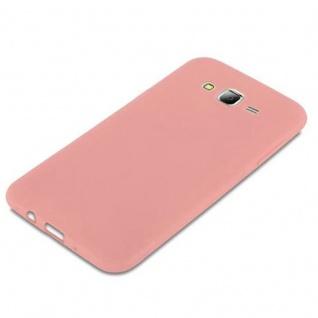 Cadorabo Hülle für Samsung Galaxy J7 2015 in CANDY ROSA - Handyhülle aus flexiblem TPU Silikon - Silikonhülle Schutzhülle Ultra Slim Soft Back Cover Case Bumper - Vorschau 4