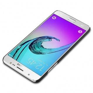 Cadorabo Hülle für Samsung Galaxy J5 2016 in WOODY BRAUN - Hardcase Handyhülle aus Plastik gegen Kratzer und Stöße - Schutzhülle Bumper Ultra Slim Back Case Hard Cover - Vorschau 2