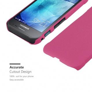 Cadorabo Hülle für Samsung Galaxy XCover 3 in FROSTY PINK - Hardcase Handyhülle aus Plastik gegen Kratzer und Stöße - Schutzhülle Bumper Ultra Slim Back Case Hard Cover - Vorschau 5