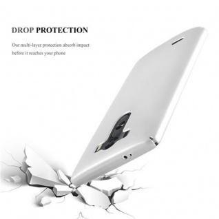 Cadorabo Hülle für LG G3 in METALL SILBER - Hardcase Handyhülle aus Plastik gegen Kratzer und Stöße - Schutzhülle Bumper Ultra Slim Back Case Hard Cover - Vorschau 3
