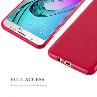 Cadorabo Hülle für Samsung Galaxy J7 2015 in JELLY ROT ? Handyhülle aus flexiblem TPU Silikon ? Silikonhülle Schutzhülle Ultra Slim Soft Back Cover Case Bumper - Vorschau 4
