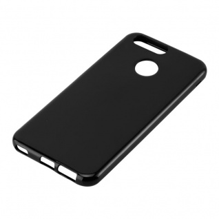 Cadorabo Hülle für Huawei NOVA 2 in SCHWARZ - Handyhülle aus flexiblem TPU Silikon - Silikonhülle Schutzhülle Ultra Slim Soft Back Cover Case Bumper - Vorschau 2