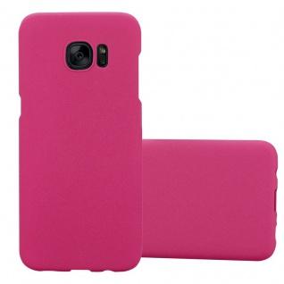 Cadorabo Hülle für Samsung Galaxy S7 EDGE in FROSTY PINK - Hardcase Handyhülle aus Plastik gegen Kratzer und Stöße - Schutzhülle Bumper Ultra Slim Back Case Hard Cover