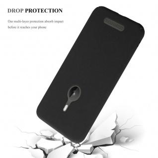 Cadorabo Hülle für Nokia Lumia 925 in FROSTY SCHWARZ - Hardcase Handyhülle aus Plastik gegen Kratzer und Stöße - Schutzhülle Bumper Ultra Slim Back Case Hard Cover - Vorschau 5