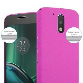 Cadorabo Hülle für Motorola MOTO G4 / MOTO G4 PLUS in FROSTY PINK - Hardcase Handyhülle aus Plastik gegen Kratzer und Stöße - Schutzhülle Bumper Ultra Slim Back Case Hard Cover - Vorschau 5