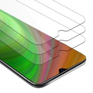 Cadorabo 3x Panzer Folie für Xiaomi Mi CC9 - Schutzfolie in KRISTALL KLAR - 3er Pack Gehärtetes (Tempered) Display-Schutzglas in 9H Härte mit 3D Touch Kompatibilität