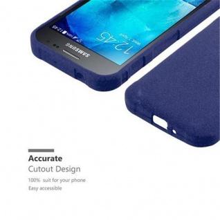 Cadorabo Hülle für Samsung Galaxy XCover 3 in FROST DUNKEL BLAU - Handyhülle aus flexiblem TPU Silikon - Silikonhülle Schutzhülle Ultra Slim Soft Back Cover Case Bumper - Vorschau 2
