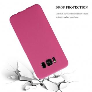 Cadorabo Hülle für Samsung Galaxy S8 PLUS in FROSTY PINK - Hardcase Handyhülle aus Plastik gegen Kratzer und Stöße - Schutzhülle Bumper Ultra Slim Back Case Hard Cover - Vorschau 3