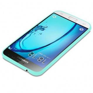 Cadorabo Hülle für Samsung Galaxy J3 2015 in CANDY BLAU - Handyhülle aus flexiblem TPU Silikon - Silikonhülle Schutzhülle Ultra Slim Soft Back Cover Case Bumper - Vorschau 3