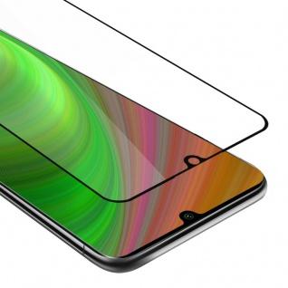Cadorabo Vollbild Panzer Folie für Xiaomi RedMi NOTE 10 Schutzfolie in TRANSPARENT mit SCHWARZ Gehärtetes (Tempered) Display-Schutzglas in 9H Härte mit 3D Touch