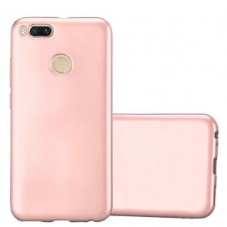 Cadorabo Hülle für Xiaomi Mi A1 / 5X in METALLIC ROSÉ GOLD - Handyhülle aus flexiblem TPU Silikon - Silikonhülle Schutzhülle Ultra Slim Soft Back Cover Case Bumper - Vorschau 1