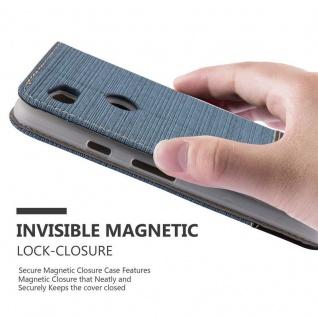 Cadorabo Hülle für Google Pixel 2 XL in DUNKEL BLAU SCHWARZ - Handyhülle mit Magnetverschluss, Standfunktion und Kartenfach - Case Cover Schutzhülle Etui Tasche Book Klapp Style - Vorschau 5