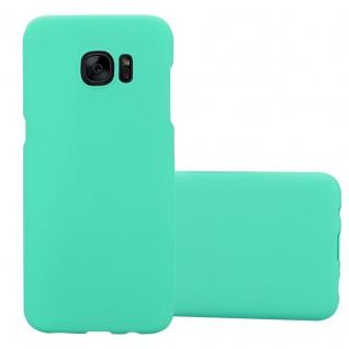 Cadorabo Hülle für Samsung Galaxy S7 EDGE in FROSTY GRÜN - Hardcase Handyhülle aus Plastik gegen Kratzer und Stöße - Schutzhülle Bumper Ultra Slim Back Case Hard Cover