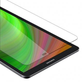 """Cadorabo Panzer Folie für Samsung Galaxy Tab A 2016 (10.1"""") SM-T585N / T580N Schutzfolie in KRISTALL KLAR Gehärtetes (Tempered) Display-Schutzglas in 9H Härte mit 3D Touch Kompatibilität"""