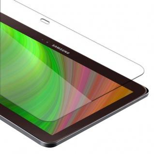 Cadorabo Panzer Folie für Samsung Galaxy Tab 3 10.1 Schutzfolie in KRISTALL KLAR Gehärtetes (Tempered) Display-Schutzglas in 9H Härte mit 3D Touch Kompatibilität